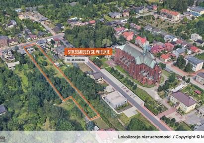 działka na sprzedaż - Dąbrowa Górnicza, Strzemieszyce Wielkie, Ordona